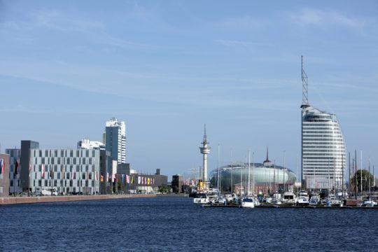 Alter / Neuer Hafen in bremerhaven