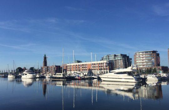 Investitionen in ökologischen Tourismus: die Im-Jaich Marina am Neuen Hafen.