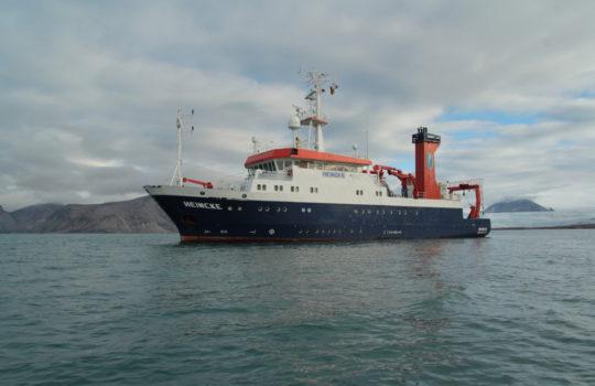 Die Einsatzgebiete der MS Heincke sind in der Nordsee und im Nordatlantik. Foto: AWI