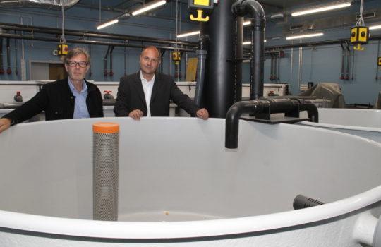 Dr Gerd Kraus (rechts) und Dr ReinholdHanel - WFB/HelmutStapel