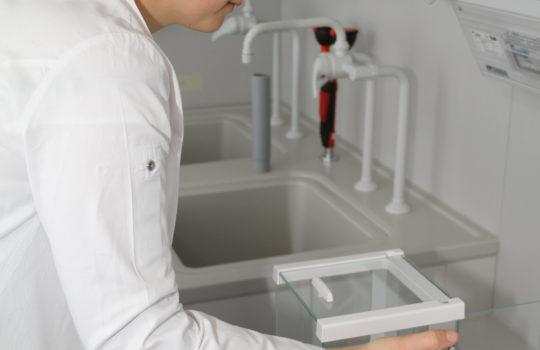 Der Einzug hat begonnen die ersten Labore im Tühnen-Neubau stehen schon - WFB/HelmutStapel