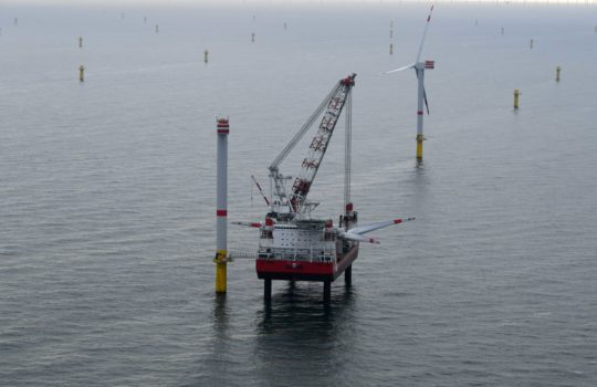 Offshore Windpark  Nordsee One