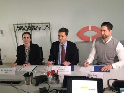 Pressekonferenz im neugebauten Hauptsitz der NORDSEE GmbH