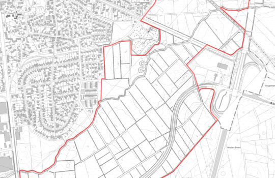Karte LSG Rohrniederung