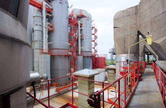 Wurden seit den 1970er-Jahren für mehr als 70 Millionen Euro erweitert und modernisiert: Die Rauchgas-Reinigungsanlagen des MHKW.Foto: BEG