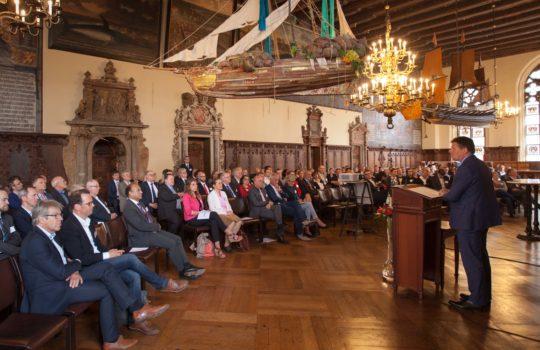 15 Jahre PUU Jubiläum Rathaus Bremen
