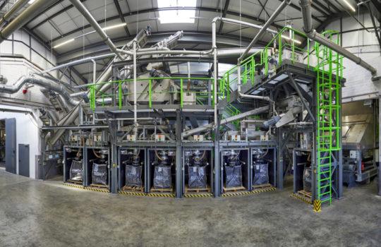 Lithium-Ionen-Recyclinganlage Bremerhaven