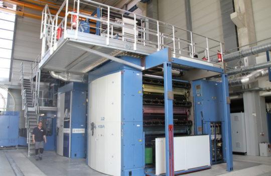 Alleinstellungsmerkmal für Bremerhaven: Die nächste umweltfreundliche Druckmaschine dieser Art findet man erst in Amsterdam.