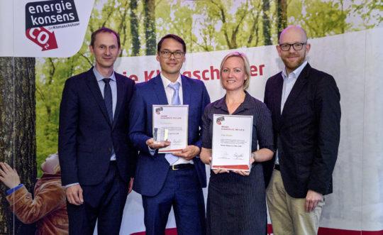Verleihung Bremer Klimaschutz-Preis 2018