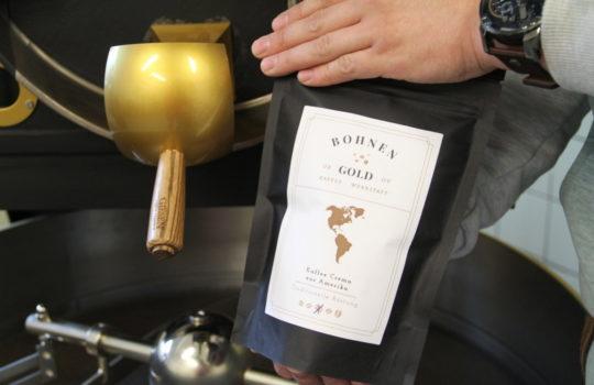 Kaffee made im Bremerhavener Fischereihafen: Bohnengold