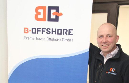 Ist mit seinem Windkraft-Unternehmen international tätig: der Geschäftsführer der b.offshore GmbH, Thomas Pontow.    Foto: Helmut Stapel