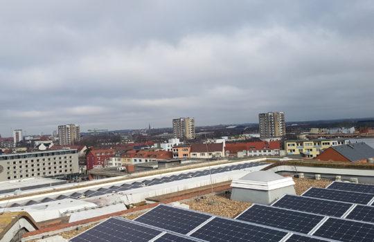 Photovoltaikanlage Hochschule Bremerhaven