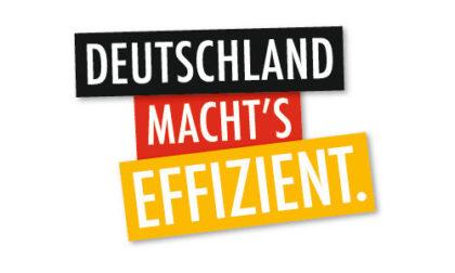 Deutschland macht's effizient.