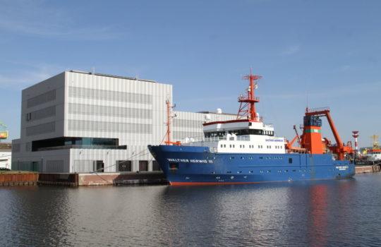 Das größte deutsche Fischereiforschungschiff geht mit Corona-Auflagen weiterhin auf Expedition: die Walter-Herwig III, Foto: Helmut Stapel