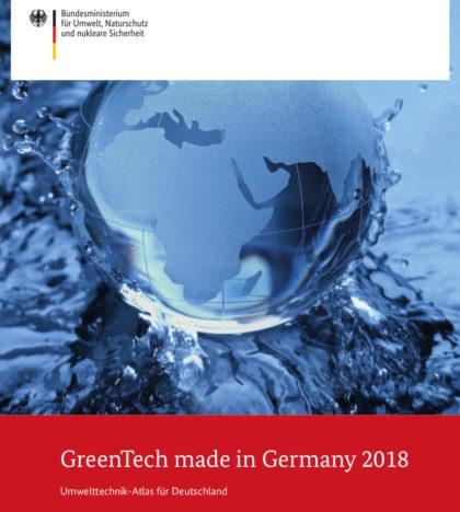 GreenTech made in Germany 2018: Umwelttechnik-Atlas für Deutschland