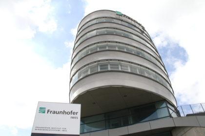 Forscht an schwimmenden Fundamenten für Windenergieanlagen: das Fraunhofer IWES-Institut in Bremerhaven. Foto: Helmut Stapel