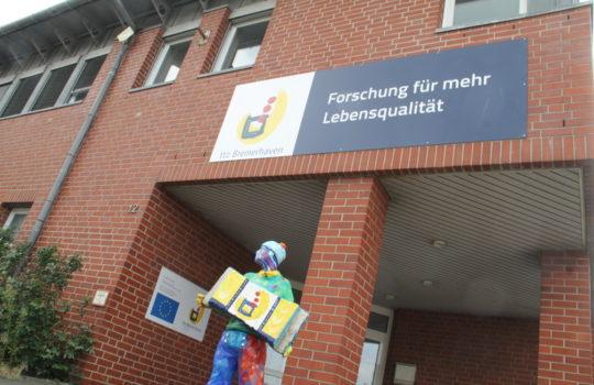 Steht für Innovation in Sachen Lebensmittelforschung: das Technologie Transfer Zentrum im Bremerhavener Fischereihafen. Foto: Helmut Stapel