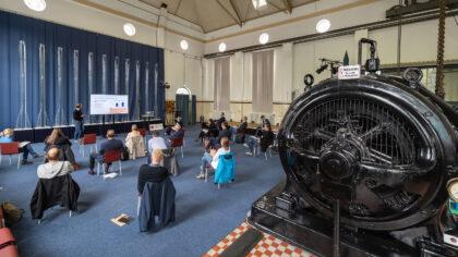 Effizienztisch Kommunal Vortrag in Pumpwerk