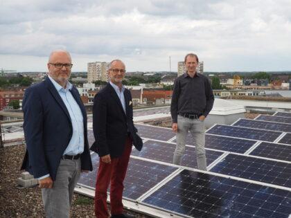 Photovoltaik auf der Hochschule Bremerhaven