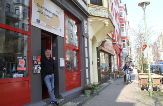 Koordiniert die Kommunikation zwischen Hausbesitzern, Mietern und Bausanierungsträger: Quartiersmeister Jens Rilke. Foto: Helmut Stapel