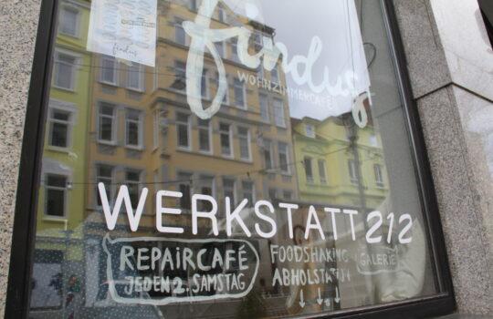 """""""Hier ist das Potenzial"""" – die Kultur- und Kneipenmeile in der """"Alten Bürger"""" denkt und handelt bereits jetzt schon """"grün"""". Foto: Helmut Stapel"""