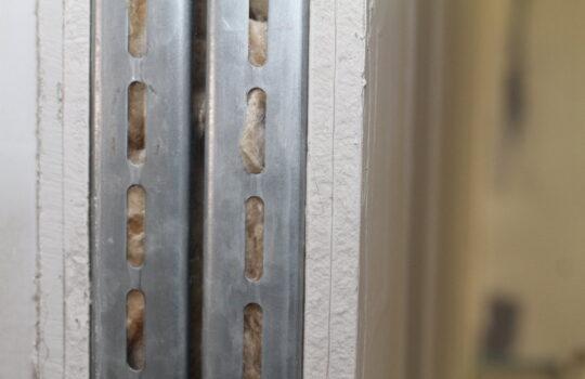 Tragen zum KfW40plus -Konzept bei: lärmgedämmte Zwischenwände in Leichtbauweise. Foto: Helmut Stapel