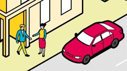 Bild Gemeinsam zur Arbeit fahren