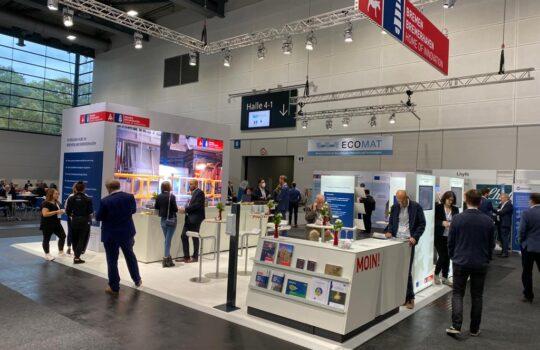 Bremer Gemeinschaftsstand  auf der Messe Hydrogen Expo